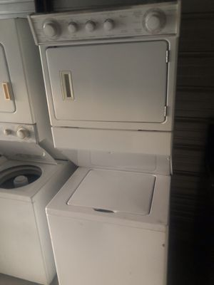 Whirlpool stackable !! Washer & electric dryer!! for Sale in Santa Ana, CA