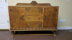 Antique Buffet/ Desk/ Bar- Good for Project! for Sale in Lilburn, GA