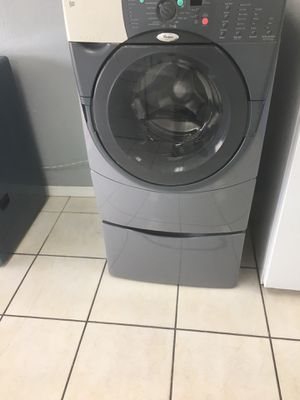Whirlpool front load washer with pedestal for Sale in Orlando, FL