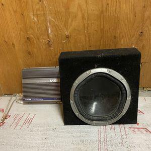 Alpine Amplifier And Speaker for Sale in Redwood City, CA