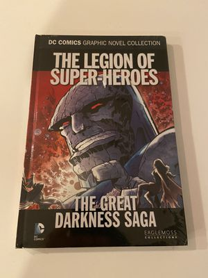 The Legion Of Super Heroes The Great Darkness Saga - Graphic Novel (Sealed) for Sale in Euless, TX
