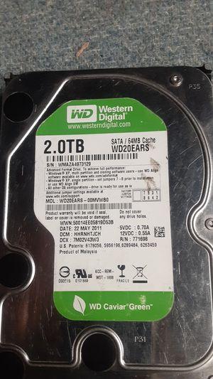 2.0TB Hard drive for Sale in San Jose, CA