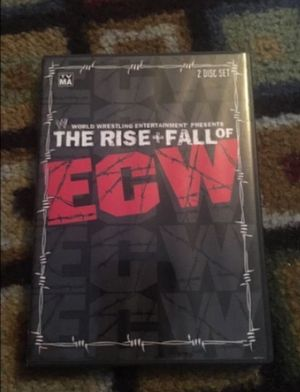WWE The Rise and Fall of ECW - 2 discs for Sale in Milnesville, PA