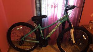 Brand New Schwinn bike + bike rack/memory foam seat for Sale in Kingsport, TN
