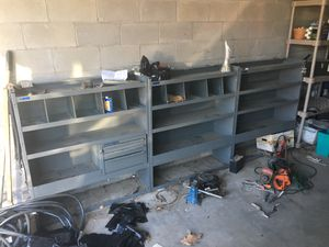 3 Piece work truck or van metal shelving unit for Sale in East Wenatchee, WA