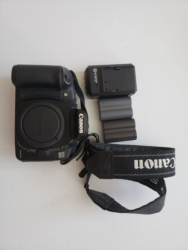 Used Canon 20d Body- great for beginners