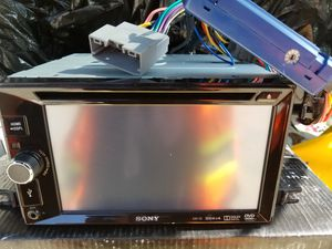 """Sony XAV-65 CD DVD Receiver 6.2"""" Touch LCD Double Din Ft USB Car Audio for Sale in Tacoma, WA"""