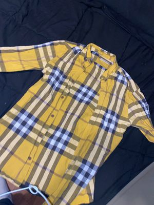 Burberry Brit( long -sleeve) #yellow for Sale in Antioch, CA