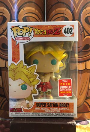 Dragonball Z: SS Broly Funko Pop for Sale in Gilroy, CA
