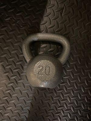 Weider 20 lb kettlebell for Sale in Hayward, CA
