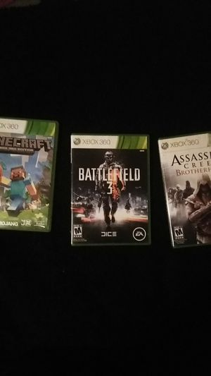 Xbox 360 games and juegos for Sale in Dallas, TX