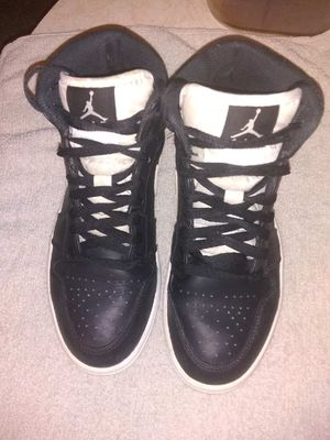 Nike Air Jordan 1 Retro Mid Black for Sale in Mexico, MO