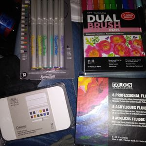 4 Brand New Art Sets. High Quality brands for Sale in Chico, CA
