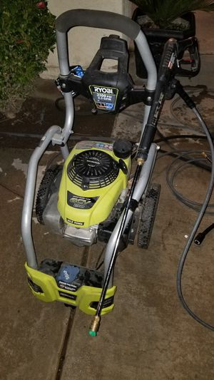 3100 ryobi pressure washer with new hose gun and attachments for Sale in Bakersfield, CA