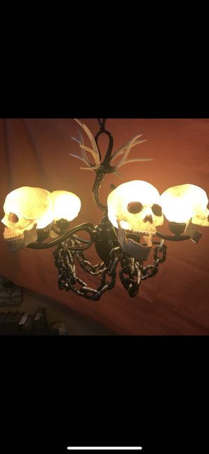 Custom Skull Chandelier for Sale in West Hollywood, CA