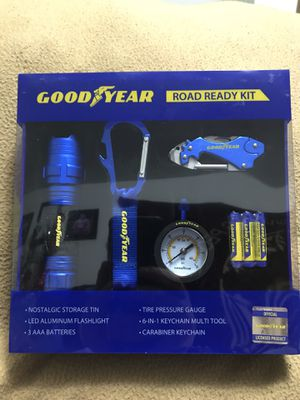 GoodYear Road Ready Kit With Nostalgic Storage Tin for Sale in Sioux Falls, SD