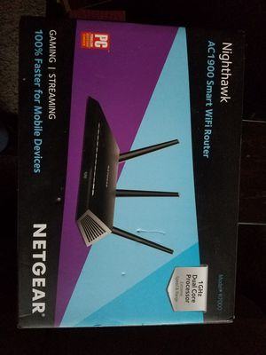 Router Nighthawk a/c 1900 for gaming for Sale in Fresno, CA