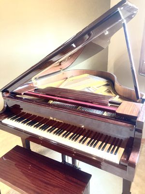 Piano with walnut finish for Sale in Indialantic, FL