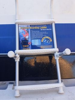 West Marine 3 Step Ladder.New for Sale in San Leandro,  CA