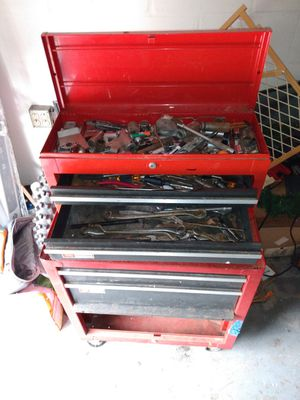 Tool chest with tools for Sale in NEW PRT RCHY, FL