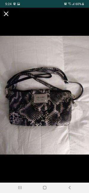 Nicole Miller snakeskin purse new for Sale in Southbridge, MA