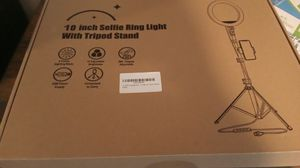 "10"" selfie ring tiktok YouTube w 59"" adjustable stand for Sale in Apopka, FL"