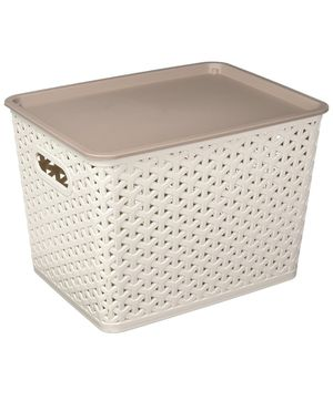Uniware Plastic Storage Container with Cover (10x7.5x7 Inches) for Sale in Hialeah, FL