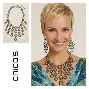 Chico's Bib Necklace for Sale in Wake Forest, NC