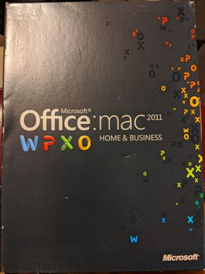Microsoft office for Mac for Sale in Lompoc, CA
