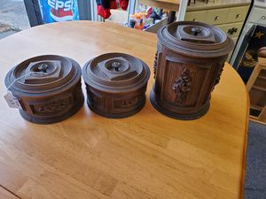 Set of 3 storage containers for Sale in Erie, PA