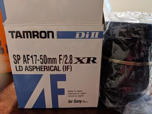 Tamron 17-50mm Sony for Sale in Chandler, AZ