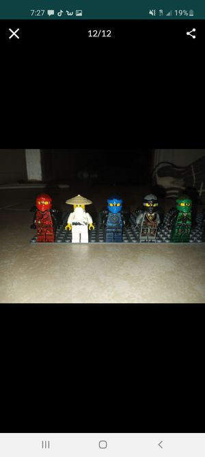 Ninjago and lego city minifigures for Sale in Lake Elsinore, CA