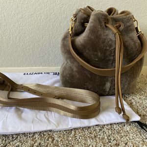 Elizabeth & James Cynnie Shearling Bag, Taupe Brown Used for Sale in San Ramon, CA