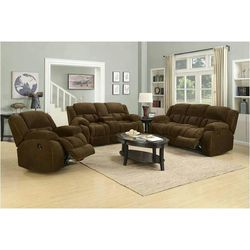 BEAUTIFUL RECLINING SOFA AND LOVESEAT SET for Sale in Portland,  OR