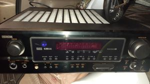 Denon stereo receiver with speakers..OBO for Sale in Long Beach, CA