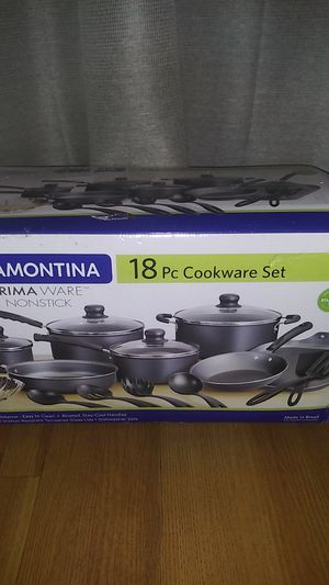 Tramontina 18 pc . non-stick cookware for Sale in North Las Vegas, NV