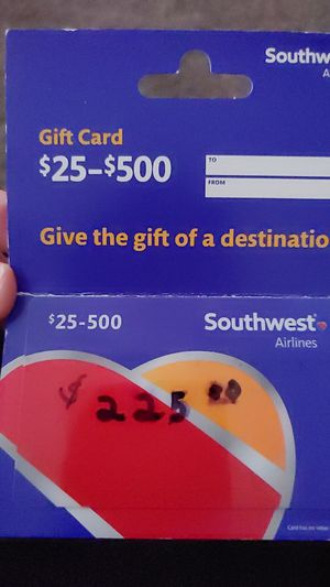 SOUTHWEST GIFT CARD for Sale in Blue Springs, MO