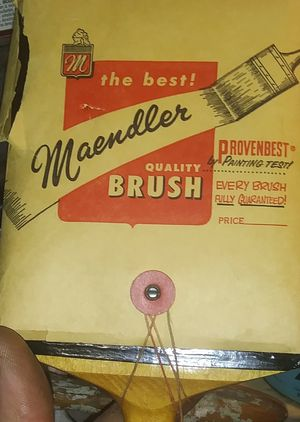 Antique Paint Brush by Maendler for Sale in Memphis, TN