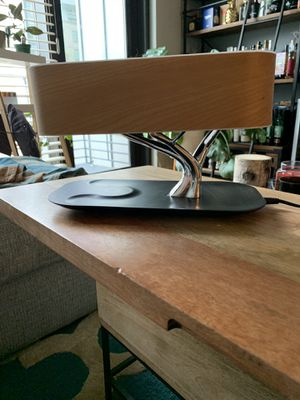 Nightstand Lamp/Bluetooth charger/ speaker ALL IN ONE for Sale in Portland, OR