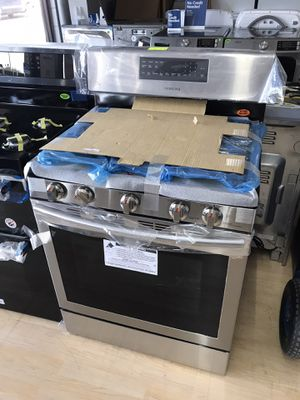 Brand new stainless steel gas stove for Sale in Houston, TX