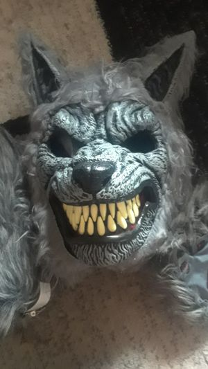 Wolf mask set for Sale in Decatur, MI