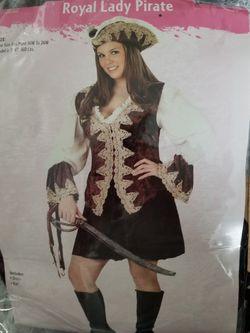 Women's pirate Halloween costume for Sale in Eddington,  PA