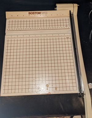 Boston Professional Style Guillotine Paper Cutter / Photo / Card Stock / Trimmer for Sale in Baton Rouge, LA
