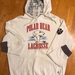 Flow Society Polar Bear Lacrosse Sweatshirt - Large for Sale in Dillsburg, PA