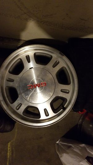 GMC rims I have two of them size 16 six lug parts for Sale in San Pedro, CA