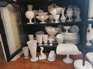 Milk glass collection for Sale in Joliet, IL