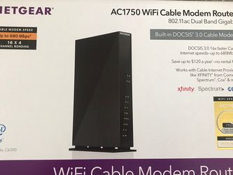Netgear Router Modem Combo for Sale in Colorado Springs,  CO