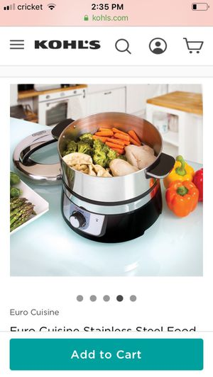 Stainless steal steamer for Sale in Buffalo, NY