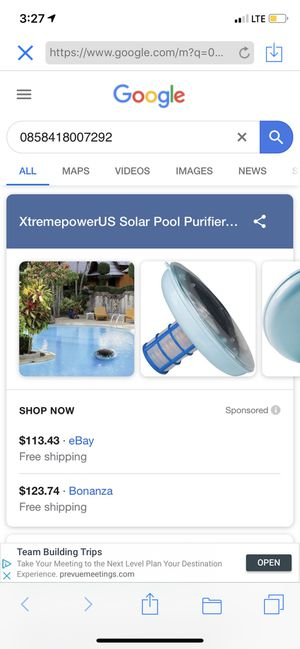 Pool solar pool purifier algae for Sale in Azusa, CA