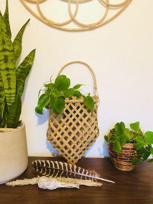 Boho hanging basket for Sale in Detroit, MI